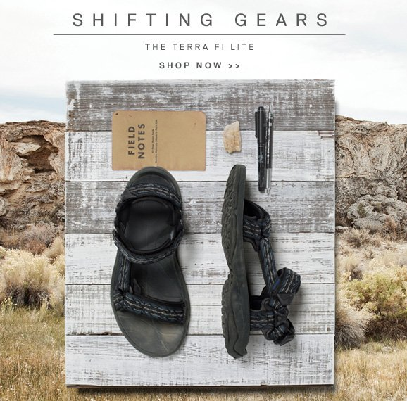 SHIFTING GEARS - THE TERRA FI LITE - SHOP NOW >>