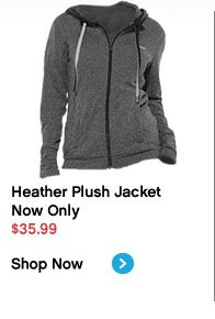 Heather Plush Jacket Now Only $35.99 Shop Now›