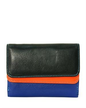 Matte&Desy Multicolor Women's Leather Wallet Made In Italy