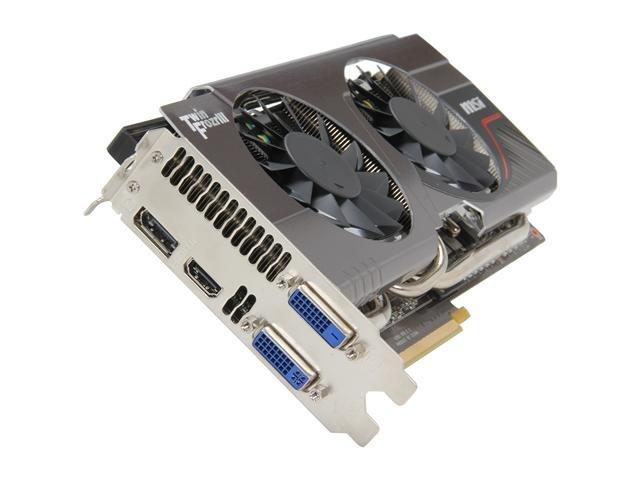 MSI N660TI TF 3GD5/OC GeForce GTX 660 Ti 3GB 192-bit GDDR5 PCI Express 3.0 x16 HDCP Ready SLI Support Video Card
