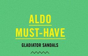 ALDO MUST-HAVE GLADIATOR SANDALS