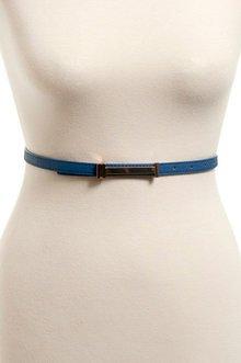 Sleek Skinny Belt $7