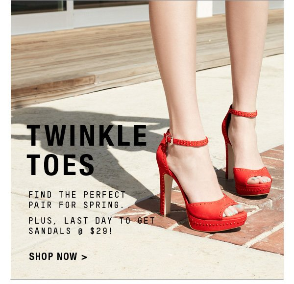 TWINKLE TOES SHOP NOW