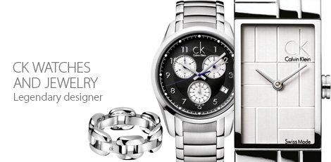 CK Watches and jewelry