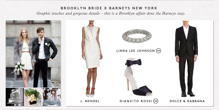Wedding season's on the horizon! Shop bridal picks from bloggers Brooklyn Bride, Ruffled, and Wedding Chicks.