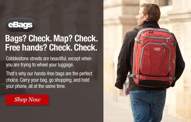 Shop eBags Travel Backpacks