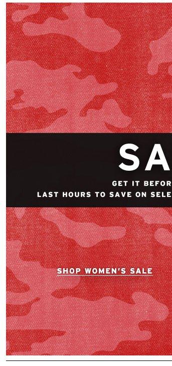 Shop the Sale Women's
