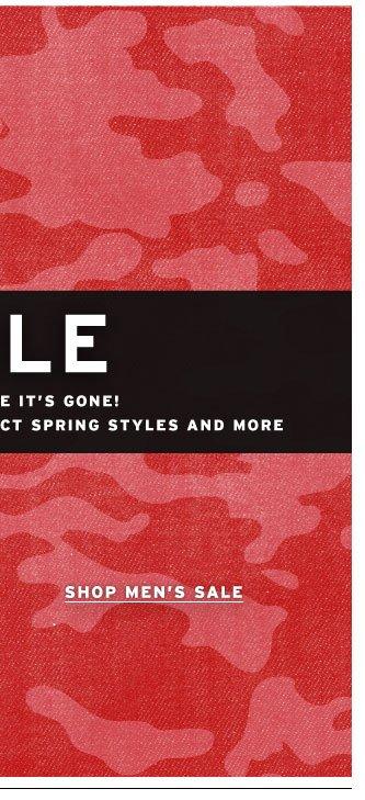 Shop the Sale Men's