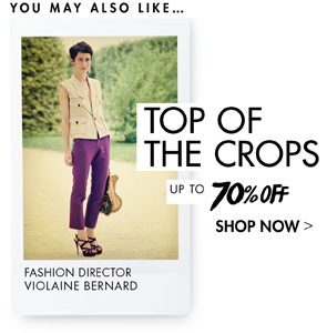 TOP OF THE CROPS 70% OFF