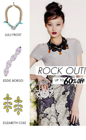 ROCK OUT UP TO 60% OFF