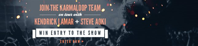 Win 2 Tickets to the Verge Campus Tour featuring: Kendrick Lamar and Steve Aoki