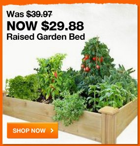 $29.88 Raised garden bed