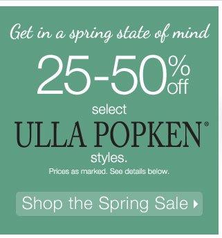 25-50% off select Ulla Popken styles