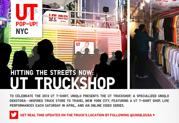HITTING THE STREETS NOW: UT TRUCKSHOP