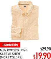 MEN OXFORD SHIRT