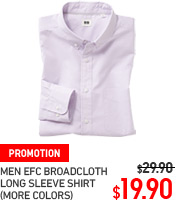 MEN EXTRA FINE BROADCLOTH SHIRT