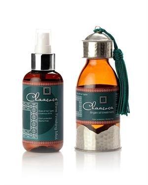 Chaacoca Argan Oil Duo Hair Treatment Set Made in USA