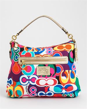 Brand New Coach Bright Signature Print Shopper Bag