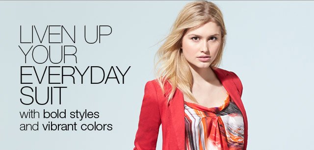 Liven up your Everyday Suit with Bold Styles and Vibrant Colors