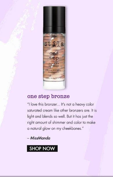 one step bronze