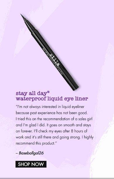 stay all day eye liner
