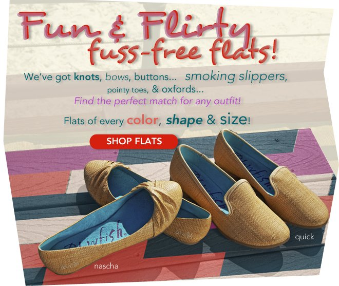 Fun and Flirty Flats for Spring