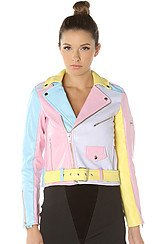The Pastel Moto Jacket