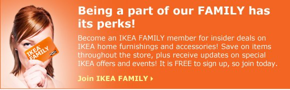 Join IKEA Family