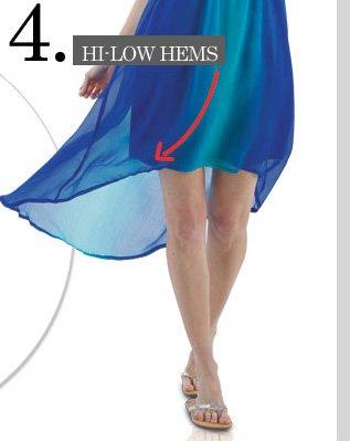 Top 5 Trending Details - Hi-Low Hems! Shop NOW!