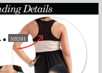 Top 5 Trending Details - Mesh! Shop NOW!
