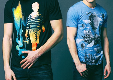 Shop Get Your Graphic Fix: Tees & More