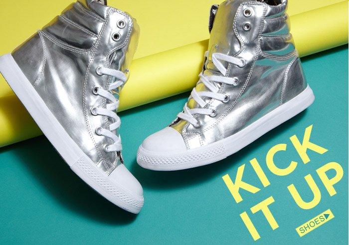 Kick It Up! Shop Shoes