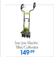 Sun Joe Electric Tiller/Cultivator 149.99