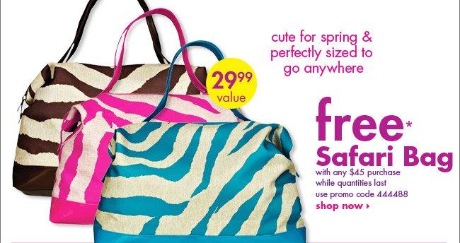 free* Safari Bag