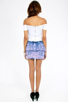 Back in the Days Denim Skirt $30