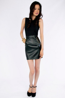 Alexa Stud Dress $30