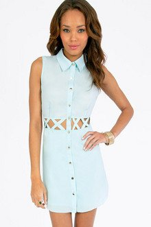 Triple X Shirt Dress $30