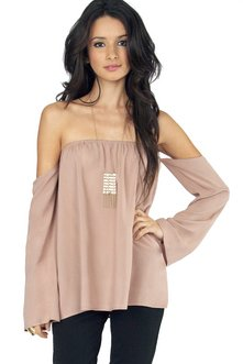 Mila Off Shoulder Top $26