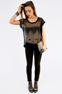 Meshed My Chance Top $26