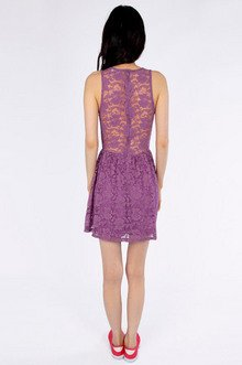 Shelly Lace Skater Dress $26