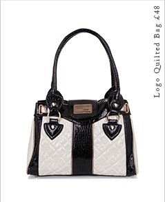 Logo Quilted Bag