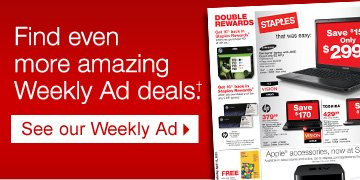 Find  even more amazing Weekly Ad deals.† See our Weekly Ad.