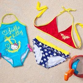 Little Mermaids: Girls' Swimwear