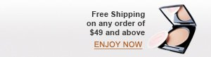 Free Shipping on any order of $49 and above | ENJOY NOW