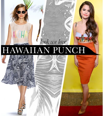 Pack A Hawaiian Punch In These Tropical-Inspired Pieces