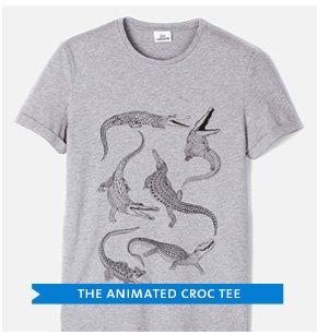THE ANIMATED CROC TEE