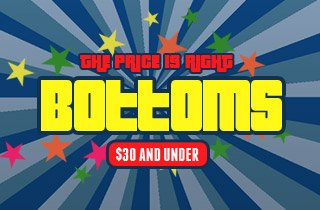 The Price is Right: Bottoms