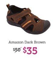Amazon Dark Brown