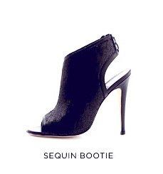Sequin Bootie