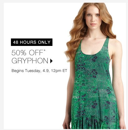 50% Off* Gryphon...Shop Now
